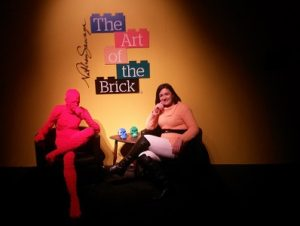The Art of the Brick na OCA
