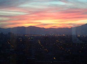 Por do Sol Chile