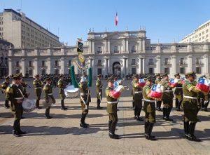 Troca da Guarda Palacio de La Moneda
