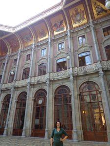 Pátio das Nações Palácio da Bolsa